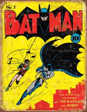 Tin Signs Batman #1 Cover