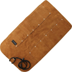 UJ Ramelson 12 Pocket Leather Tool Roll