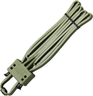 Uzi Disposable Flex Cuffs OD Green