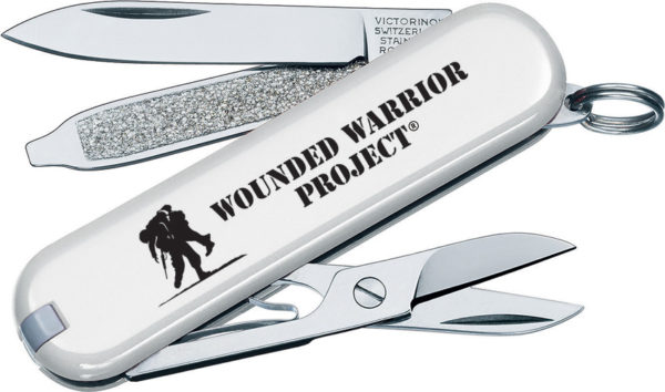 Victorinox Classic White Wounded Warrior