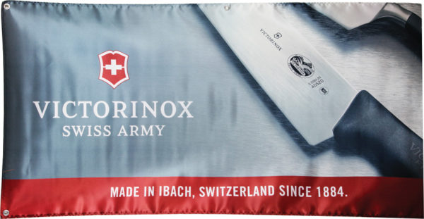 Victorinox Swiss Army Banner
