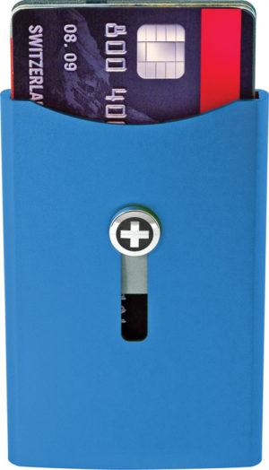 Wagner Super Slim Wallet Cobalt Blue