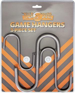 Wild Boar Game Hangers 3pc