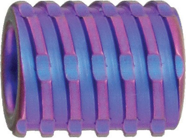 We Knife Co Ltd Titanium Bead Purple