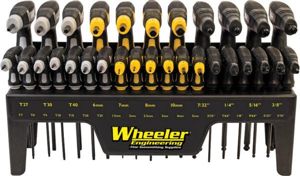 Wheeler P-Handle Driver Set 30 Piece