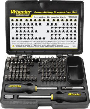 Wheeler Gunsmithing Screwdriver Set