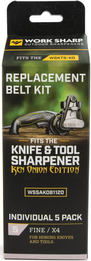 Work Sharp Ken Onion X4 Belt Kit