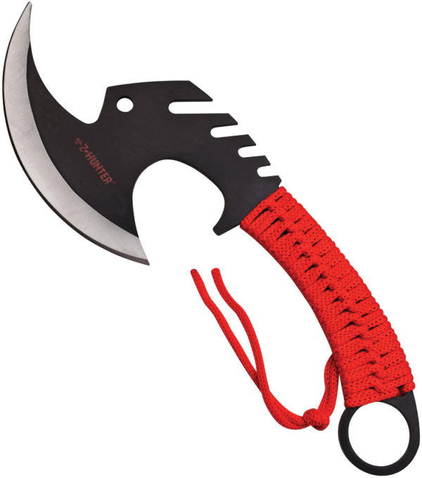 Z-Hunter Zombie Killer Axe Red