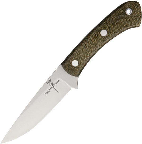 Zoe Crist Knives Kestrel Fixed Blade Green (3.875″)