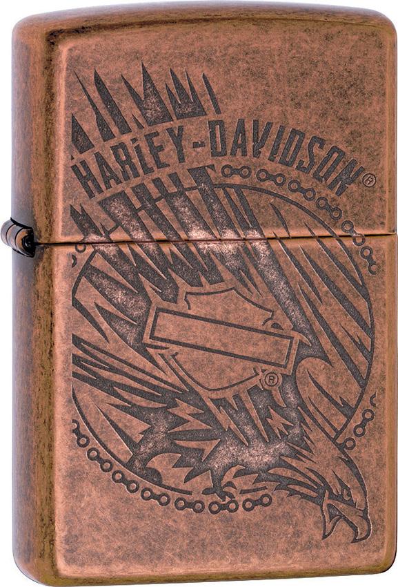Zippo Harley Davidson Copper