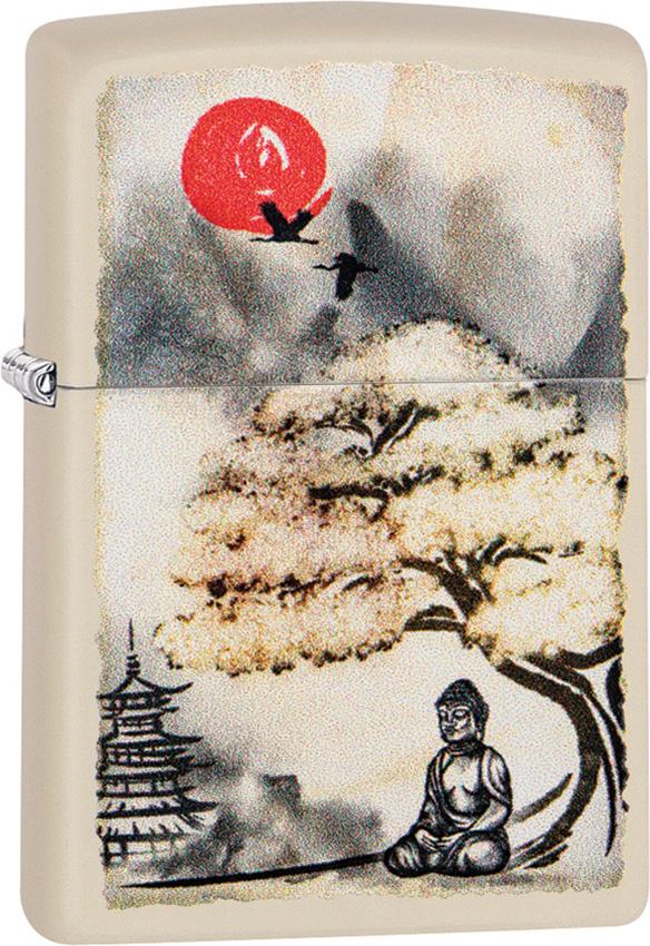 Zippo Pagoda Bonsai Buddha Lighter