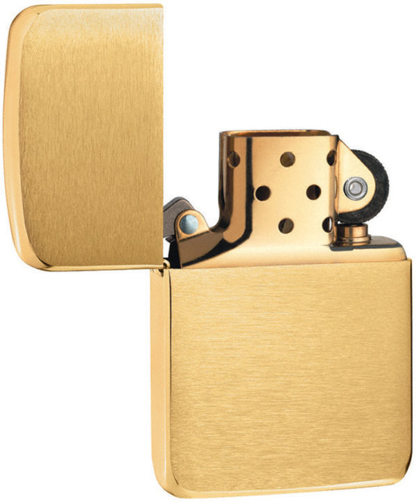 Zippo Vintage Brass