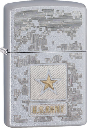 Zippo US Army Map