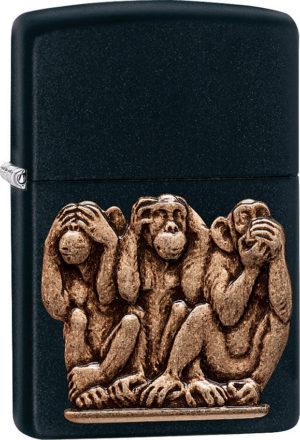 Zippo Three Monkeys