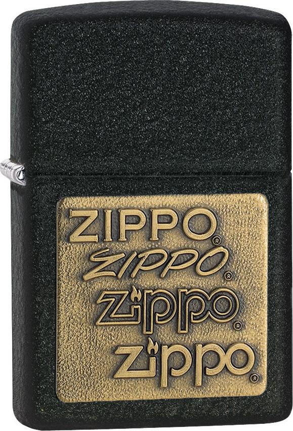Zippo Brass Emblem