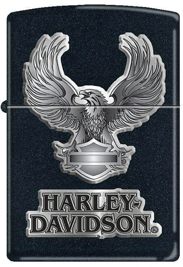Zippo Harley Black Eagle