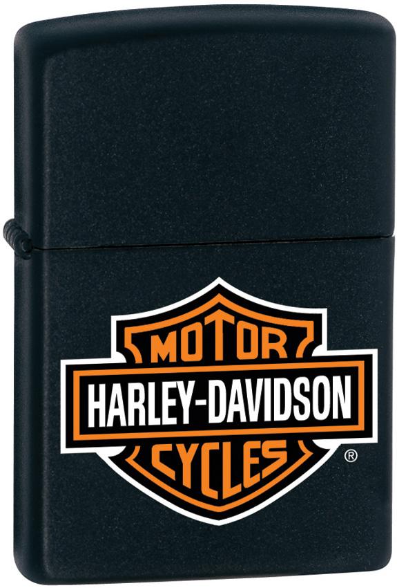 Zippo Harley H-D logo