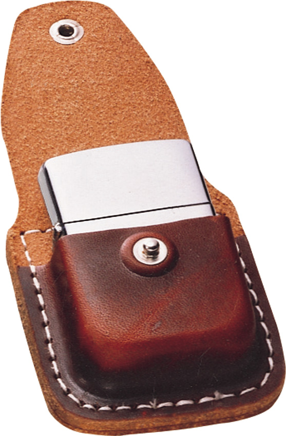 Zippo Lighter Pouch Brown Leather