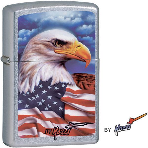 Zippo Mazzi Freedom Watch Eagle