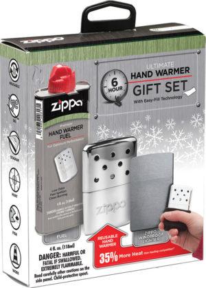 Zippo Hand Warmer 6hr Gift Set ORMD
