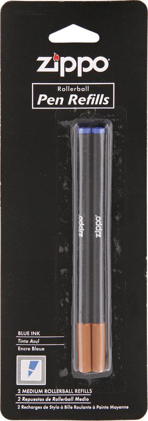 Zippo Ink Pen Refill 2-Pack Blue