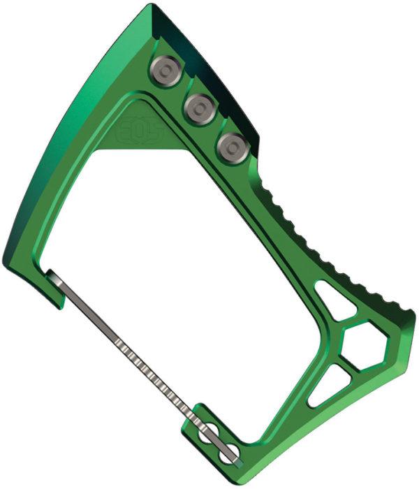 EOS Carabiner Titanium Green
