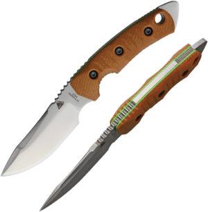 Fobos Knives Tier 1 Mini Green Liner (4″)