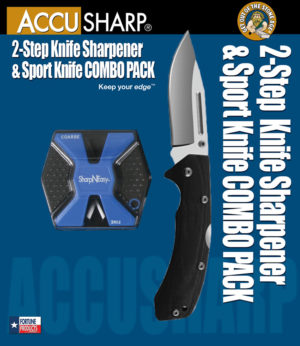 AccuSharp SharpNEasy Lockback Combo (3.25″)