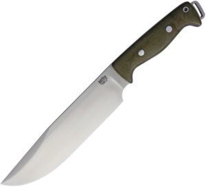 "Bark River Bravo Crusader 3V Green Canvas (8.5"")"