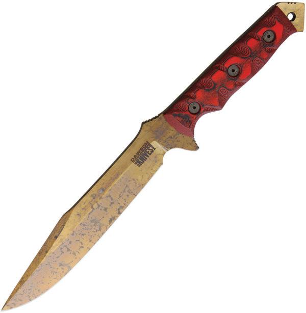 Dawson Knives Mojave 7 Red (7″)