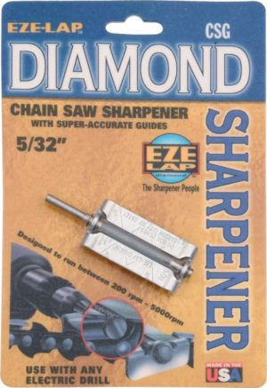 Eze-Lap Diamond Chain Saw Sharpener