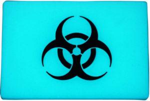 TEC Accessories BEACON Patch Aqua Biohazard