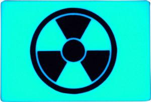 TEC Accessories BEACON Patch Aqua Radioactive