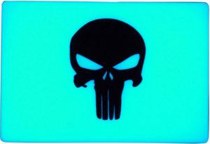 TEC Accessories BEACON Patch Aqua Punisher