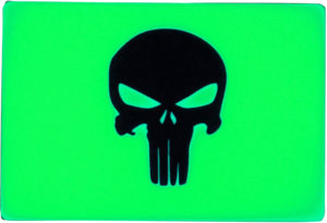 TEC Accessories BEACON Patch Green Punisher