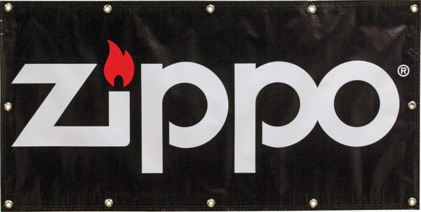 Zippo Vinyl Banner