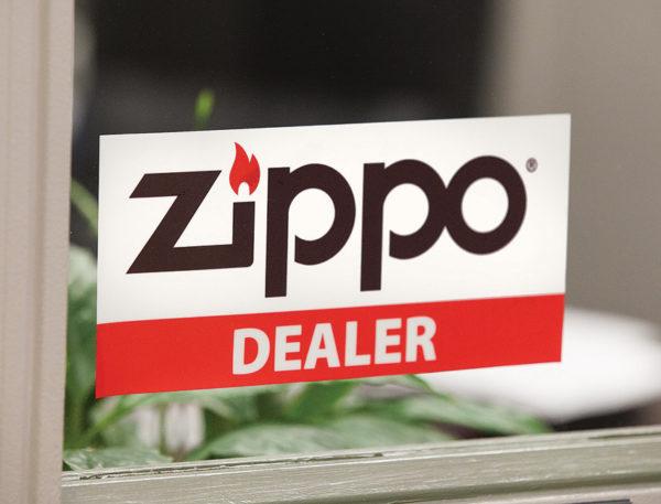 Zippo Window Cling
