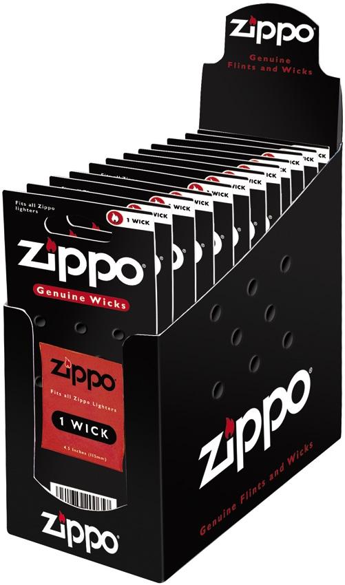 Zippo Wicks Countertop Display 24