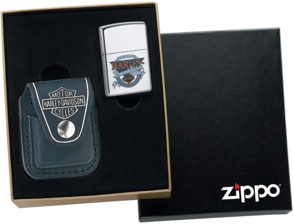 Zippo Harley Leather Pouch