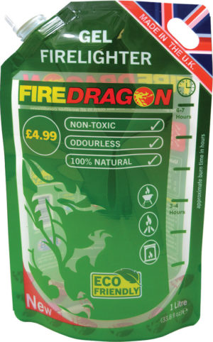 Bushcraft FireDragon Gel Fuel Pouch 1L