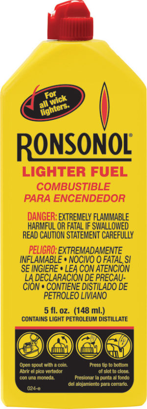 Ronsonol Lighter Fuel 12/5oz