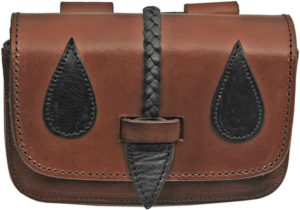 Pakistan Medieval Belt Bag Black/Brown