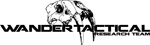 """Wander Tactical Tryceratops Fixed Blade Iron (2.75"""")"""