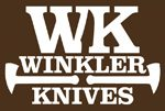 """Winkler Crusher Belt Knife Maple (4.5"""")"""