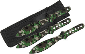 China Made Throwing Knife Set Camo (4.5″)