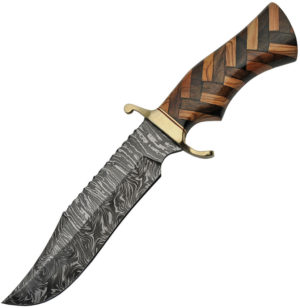 Damascus Bowie Wood (7″)