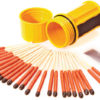 UCO Stormproof Match Kit Yellow
