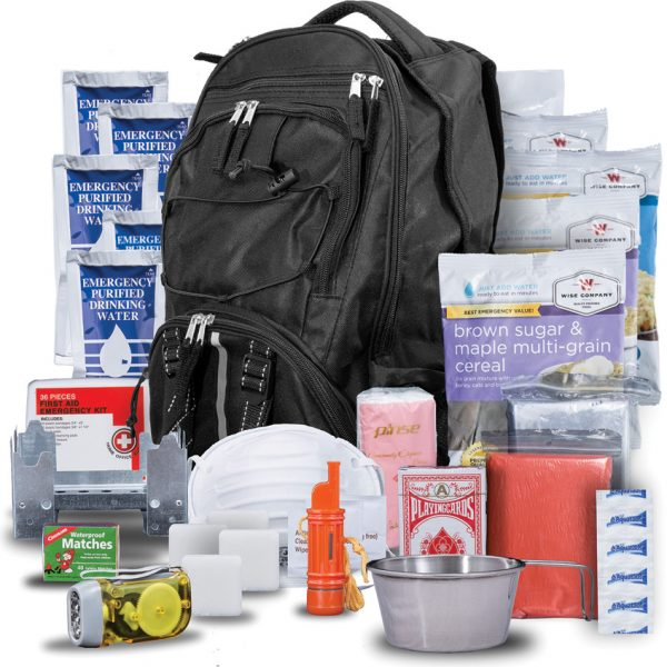 Wise Company Five Day Survival Pack Black