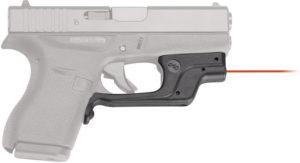 Crimson Trace Laserguard Sight Glock/Red
