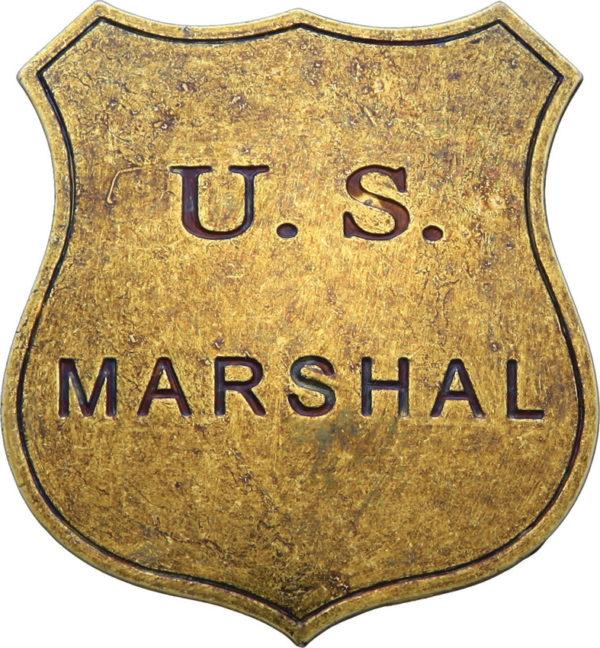 Denix US Marshal Replica Badge